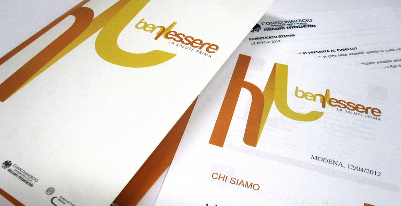 immagine di brand identity applicata