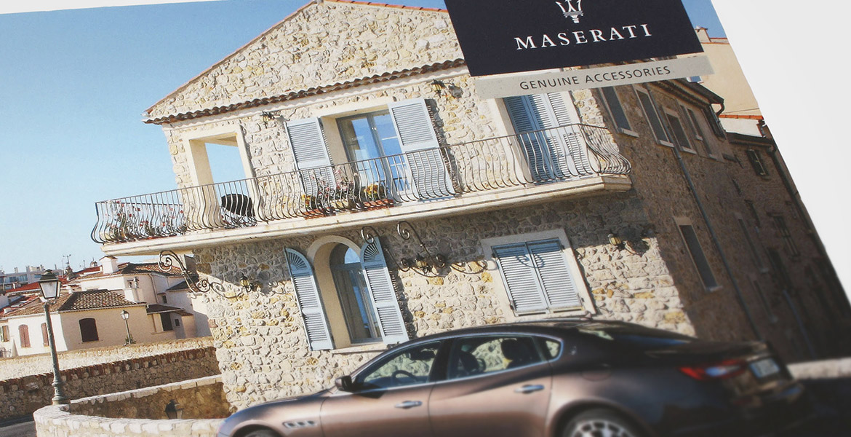 copertina catalogo Maserati
