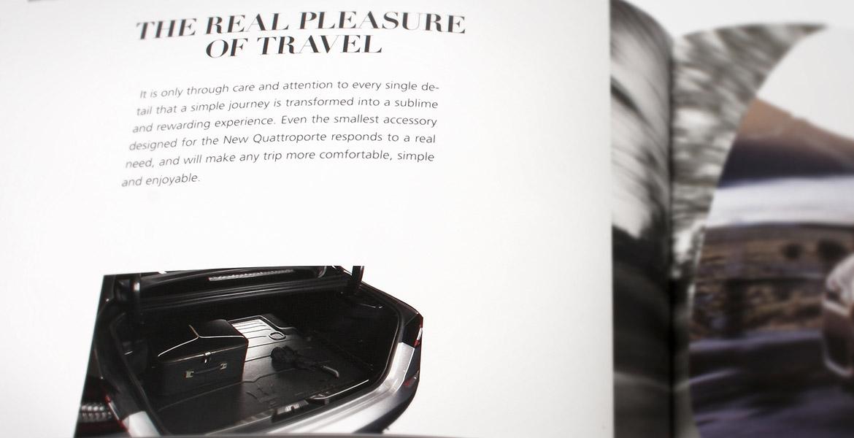 interno catalogo Maserati accessori