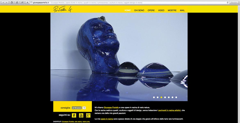 sito internet di Giuseppe Portella home