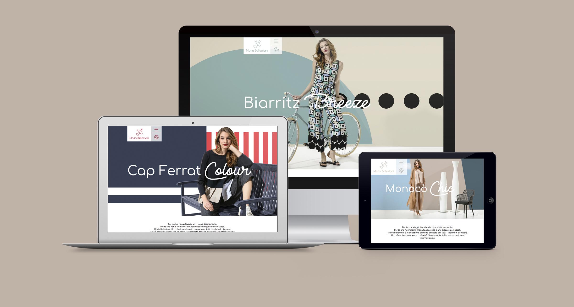 un sito web ad alto contenuto fashion